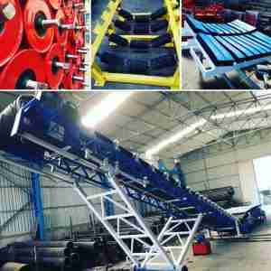 Supplies and Maintance of mining and industrial Conveyor systems
